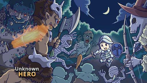Unknown HERO - Item Farming RPG. 3.0.248 screenshots 1