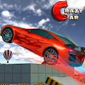 Crazy City Car Roof Jumping icon