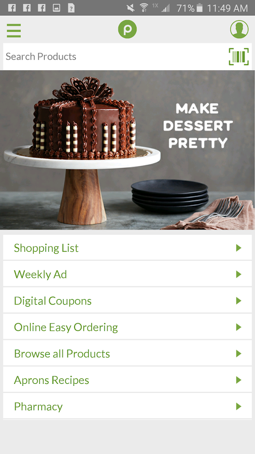 Publix- screenshot