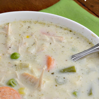 Turkey or Chicken Pot Pie Soup.