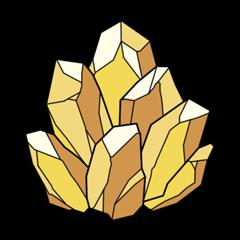 砂利の鉱石