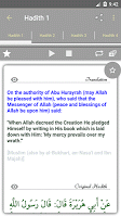 screenshot of Islam: 40 Hadiths Qudsi