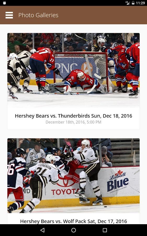 Hershey Bears- screenshot