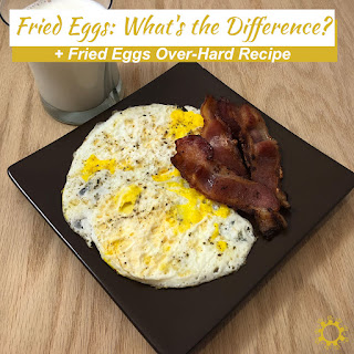 Fried Eggs Over Hard.