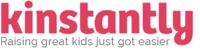 Kinstantly logo with tagline