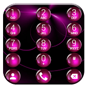 Dialer Spheres Pink Theme
