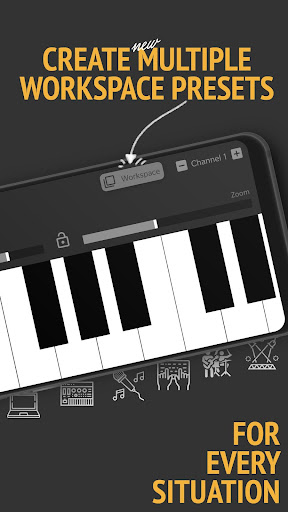 Screenshot for MIDI Controller in United States Play Store