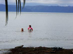 Photo: Enjoying the gulf. Water was very warm.