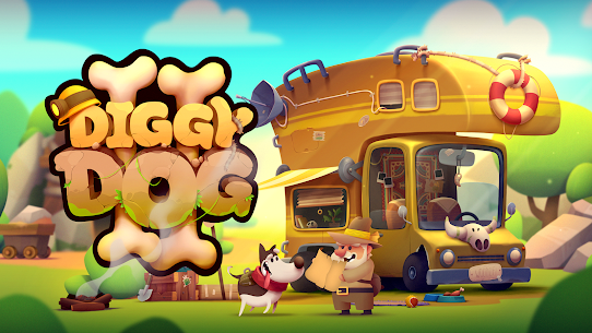 My Diggy Dog 2 Mod Apk 1.2.5 (Unlimited Diamond+ Money) 1
