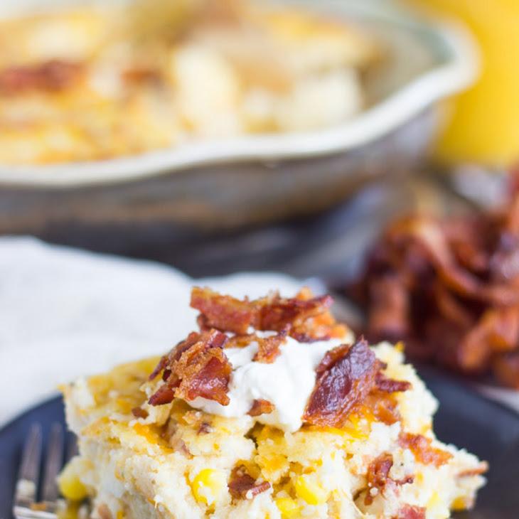 Bacon, Spinach & Mushroom Cheesy Quiche Pie