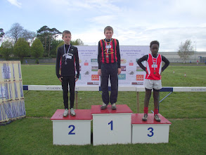 Photo: David Ryan, Moycarkey Coolcroo A.C., winner of Boys U/14 Long Jump at St. Lawerence O'Toole Sports 2012.