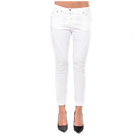 Fine Flap, Bianco Ottico - Please Jeans