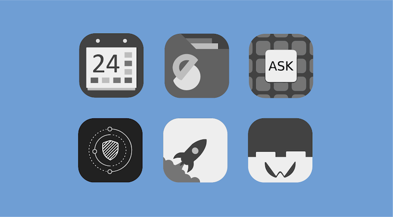 Greyed Icon Pack Screenshot 3