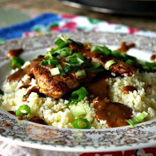 Balsamic Chicken and Couscous.