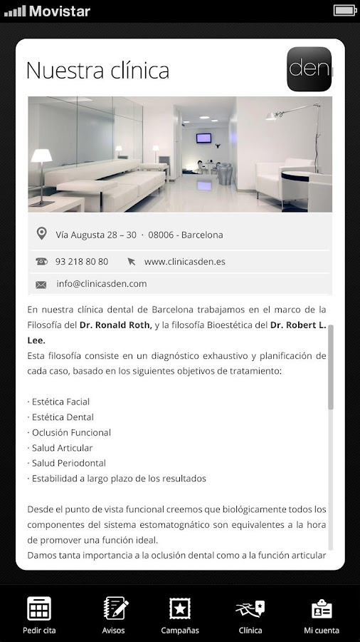 Den Clínica Dental- screenshot