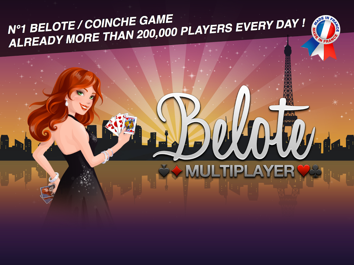 belote card game online
