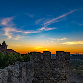 castle by Edu Marques - Landscapes Sunsets & Sunrises ( blue sky, sky, blue, castle, landscapes, landscape, photo, photography, photooftheday,  )