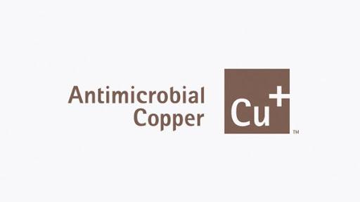 Forhåndsvisning af antimikrobielt kobbermærke