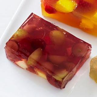 Grape Jello Jigglers.