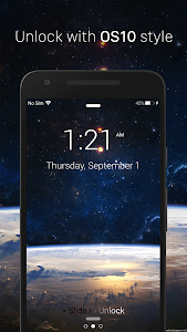 Notification Lockscreen OS 10 screenshot 1