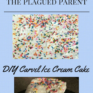 DIY Carvel Ice Cream Cake