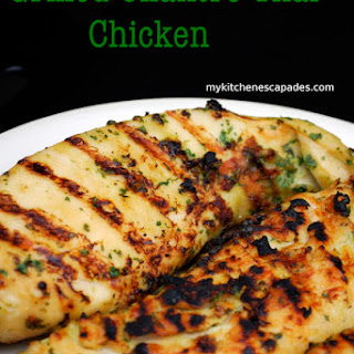 Grilled Cilantro Thai Chicken