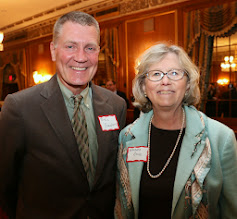 Photo: Former Corporation Counsel Bill Sinnott and Chief Justice Barbara Rouse (Superior Court).