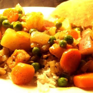 Healthy Chicken Curry.