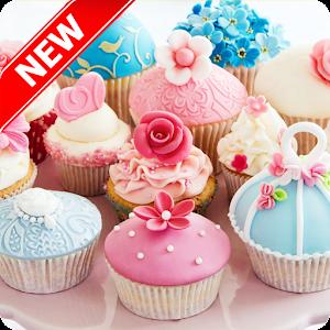Cute Cupcake Wallpaper