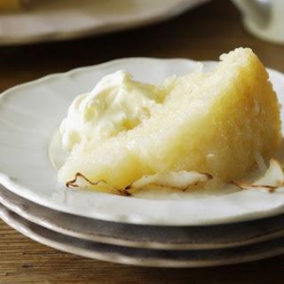 Lemon and Coconut Self-Saucing Pudding Recipe