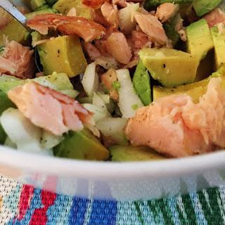 Avocado & Salmon Heart Health Goodness.