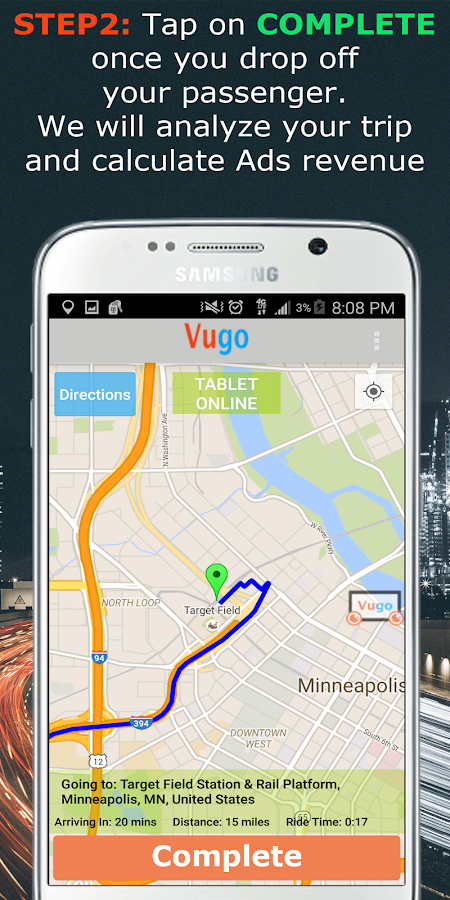 Vugo- screenshot
