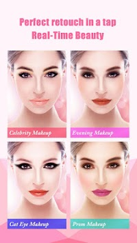 InstaBeauty -Makeup Selfie Cam APK screenshot thumbnail 1