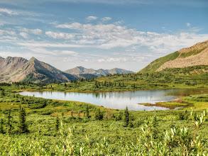 Photo: Lake below Indian Trail Ridge (Taylor Lake?)