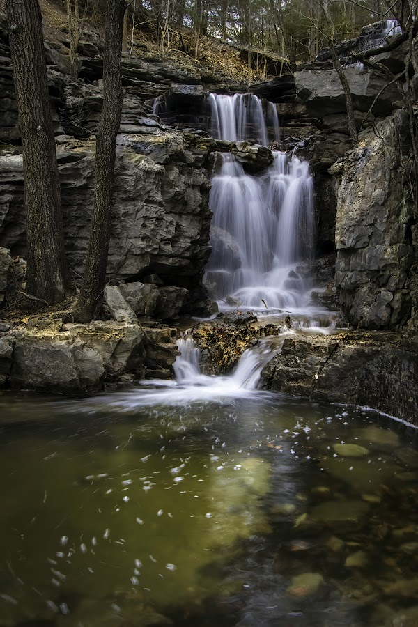 by Dana Johnson - Landscapes Waterscapes ( waterfalls, falls, waterscape, cascade, landscape )