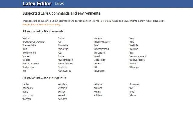 Latex Equation Editor For Google Drive