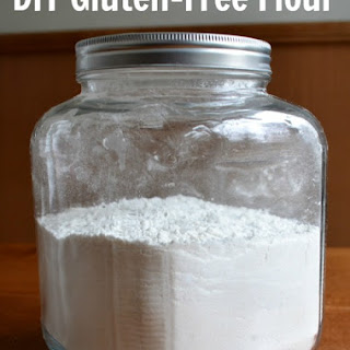 Homemade Gluten-Free Flour Mix.