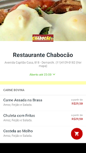 Restaurante Chabocão- screenshot thumbnail