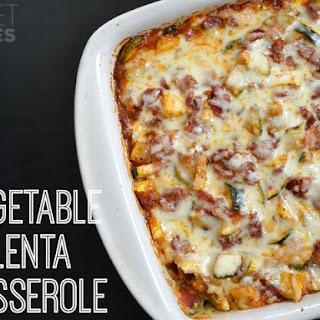 Vegetable Polenta Casserole Recipe