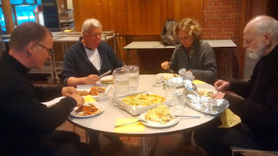 Photo: Vi afsluttede med at spise sammen