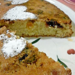Soft Cake With Dried Fruit
