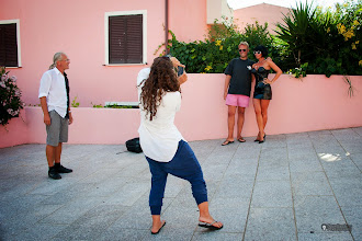 Photo: workshop in sardegna, italia ... 2011. we worked in the village st. teresa. quite often even the people and tourists were active with us .... http://karllouis.com/phototrip.shtml #workshop  #makingof  #sardegna  #fashion  #glamour