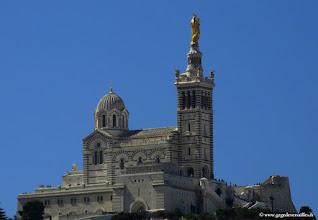 Photo: #002-La vue sur la Bonne Mère, de l'hôtel Escale Océania, Marseille Vieux Port.