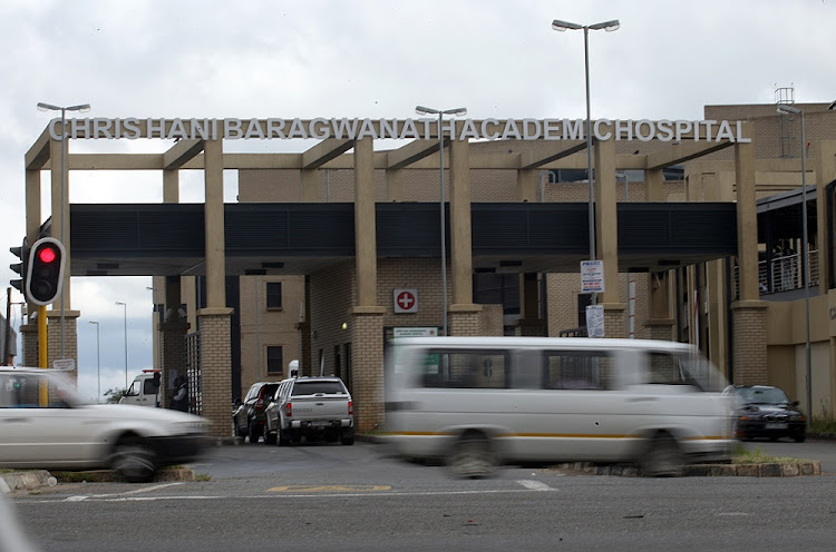 Chris Hani Baragwanath Hospital in Soweto, the biggest hospital run by the state. Picture: KEVIN SUTHERLAND