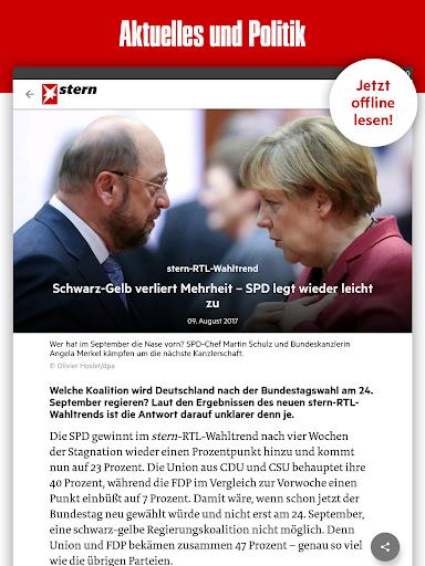 stern - Aktuelle Nachrichten 7.1.70 screenshots 11