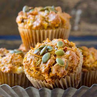 Spicy Paleo Pumpkin Muffins