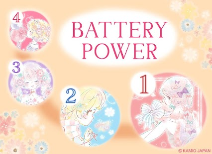 Battery Saver Flowery Kiss - náhled