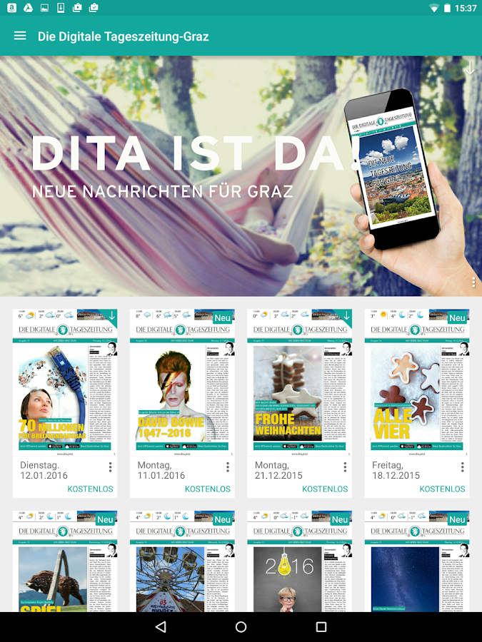 DITA- screenshot