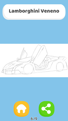 How To Draw Cars - HTDraw Cars 0.0.01 screenshots 3