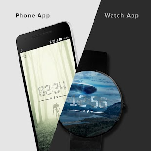Extraterrestrial Watch Faces- screenshot thumbnail